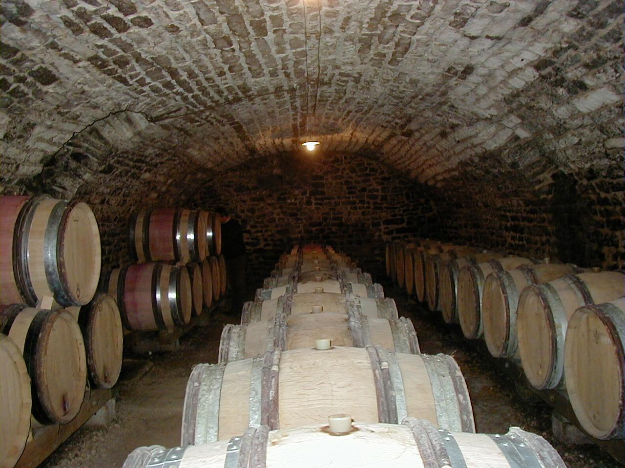 The Jaeger-Defaix wine cellar